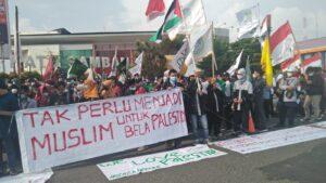 Ratusan Mahasiswa Bengkulu Gelar Aksi Solidaritas Palestina